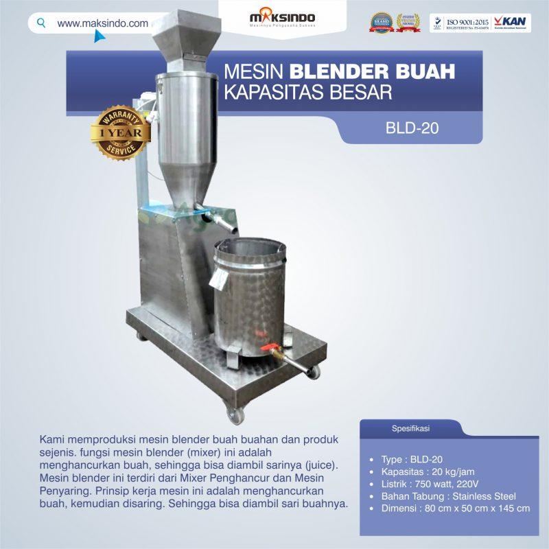 Jual Mesin Blender Buah Kapasitas Besar di Banjarmasin