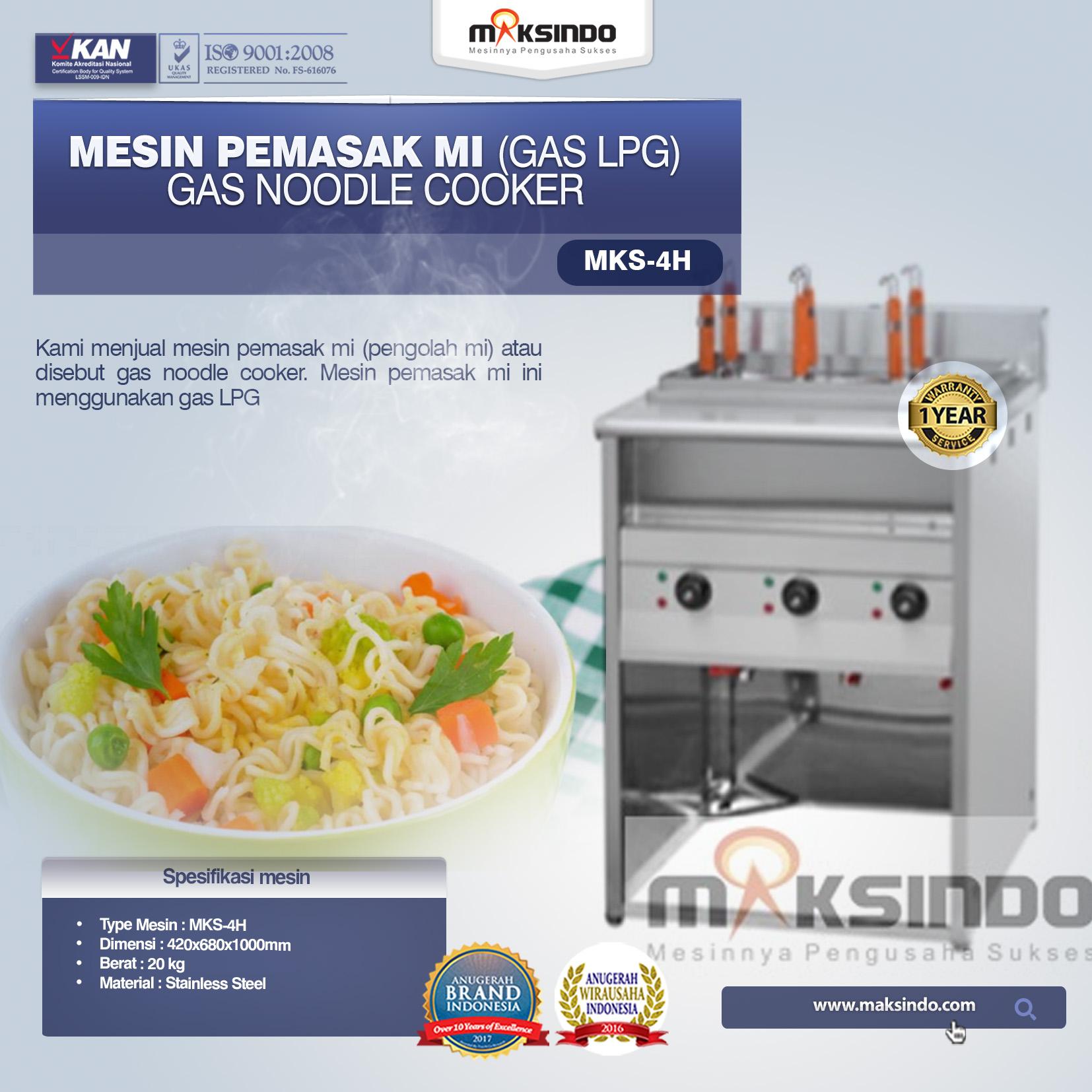 Jual Mesin Pemasak Mie (Gas LPG) di Banjarmasin