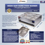 Jual Mesin Bain Marie Penghangat Makanan (EBM Type) di Banjarmasin