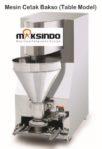 Jual Mesin Cetak Bakso Mini (Table Model) – MCB-200B di Banjarmasin