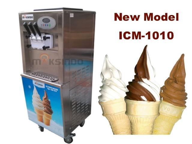 Jual Mesin Es Krim 3 Kran Standing ICM-1010 di Banjarmasin