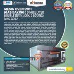 Jual Mesin Oven Gas 2 Loyang (MKS-GO12) di Banjarmasin