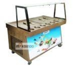 Jual Mesin Roll Fry Ice Cream RIC50x2 di Banjarmasin
