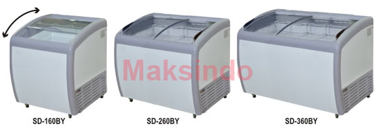 Jual Mesin Sliding Curve Glass Freezer di Banjarmasin