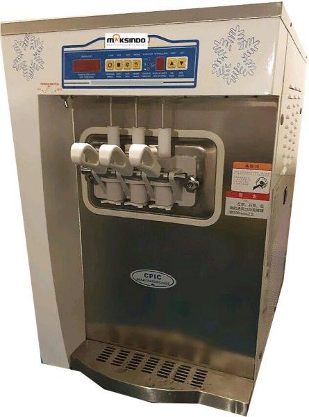 Jual Mesin Soft Ice Cream 3 Kran (Denmark Compressor) – ISC32 di Banjarmasin