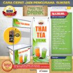 Paket Usaha Thai Tea Drink Program BOM