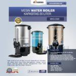 Jual Mesin Water Boiler 30 Liter (MKS-D30) di Banjarmasin