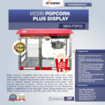 Jual Mesin Popcorn Plus Display (POP33)di Banjarmasin