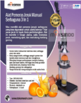 Jual Alat Pemeras Jeruk Manual  3 in 1 (MJ1003) di Banjarmasin