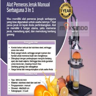 Jual Alat Pemeras Jeruk Manual  3 in 1 (MJ1003) di Banjarmasin