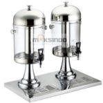 Jual Juice Dispenser / Buffet Dispenser 2 Tabung di Banjarmasin