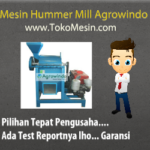 Jual Mesin Penepung Serbaguna (Hammer Mill) di Banjarmasin
