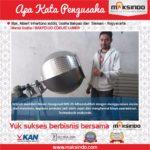 Jual Mesin Pengaduk Bumbu (Hexagonal) di Banjarmasin