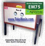 Jual Mesin Penetas Telur Manual 75 Butir (EM-75) di Banjarmasin