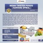 Mesin Kentang Spiral (Twist Potato)