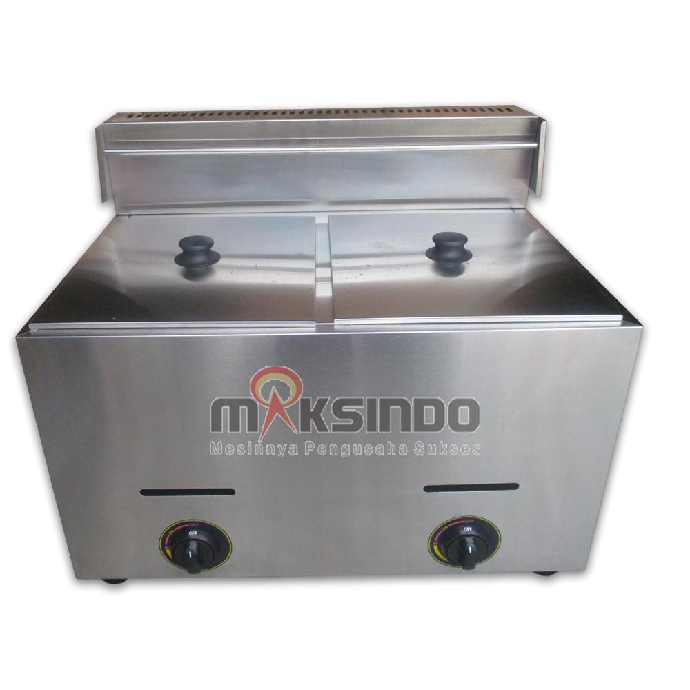 Jual Mesin Gas Fryer MKS-7Lx2 di Banjarmasin