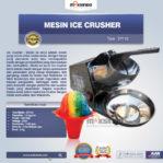 Jual Mesin Ice Crusher SY110 di Banjarmasin