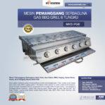 Jual Pemanggang Serbaguna – Gas BBQ Grill 6 Tungku Di Banjarmasin