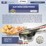 Jual Alat Cetak Long Potato MKS-LPCT30 di Banjarmasin