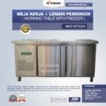 Jual Meja Kerja + Lemari Pendingin (Working Table With Freezer) MKS-WTS201 di Banjarmasin