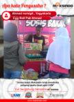 Egg Roll Pak Ahmad : Berkat mesin egg roll Maksindo membuka peluang usaha untuk para UKM