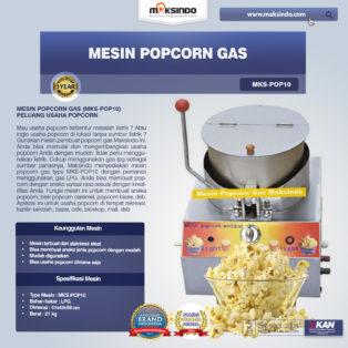 Jual Mesin Popcorn Gas (MKS-POP10) di Banjarmasin