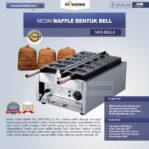 Jual Mesin Waffle Bentuk Bell (MKS-BELL5) di Banjarmasin