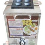 Jual Mesin Pembuat Egg Roll (Gas) 4 Lubang MKS-ERG444 di Banjarmasin