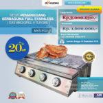 Jual Pemanggang Serbaguna – Gas BBQ Grill 4 Tungku Di Banjarmasin