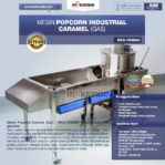 Jual Mesin Popcorn Industrial Caramel (Gas) – CRM880 di Banjarmasin