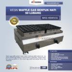 Jual Mesin Waffle Gas Bentuk Hati 50 Lubang MKS-HSW50G Di Banjarmasin