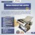Jual Mesin Pembuat Mie Listrik – MKS-140 di Banjarmasin