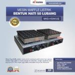 Jual Mesin Waffle Listrik Bentuk Hati 50 Lubang MKS-HSW50E Di Banjarmasin