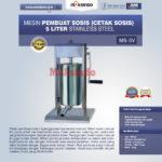 Jual Mesin Pembuat Sosis (Cetak Sosis) Stainless Steel di Banjarmasin
