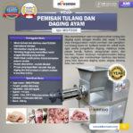 Jual Pemisah Tulang Dan Daging Ayam PTA-300 di Banjarmasin