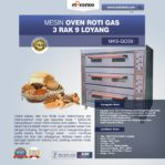 Jual Mesin Oven Roti Gas 3 Rak 9 Loyang (GO39) di Banjarmasin
