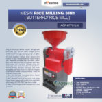 Jual Mesin Rice Milling 3in1 (Butterfly Rice Mill) AGR-BTFLY220 di Banjarmasin