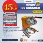 Jual Mesin Ice Crusher MKS-CRS30L di Banjarmasin