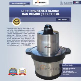 Jual Mesin Pencacah Daging dan BumbuMKS-BLD6L di Banjarmasin