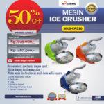 Jual Mesin Ice Crusher MKS-CRS20 di Banjarmasin