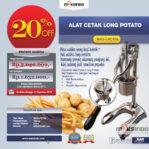 Jual Alat Cetak Long Potato MKS-LPCT50 di Banjarmasin