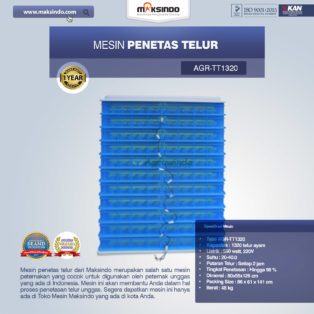 Jual Mesin Penetas Telur AGR-TT1320 Di Banjarmasin