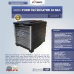 Jual Mesin Food Dehydrator 10 Rak (MKS-DR10) di Banjarmasin