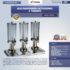 Jual Jus Dispenser Octagonal 3 Tabung  (DSP33) di Banjarmasin