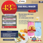 Jual Egg Roll Maker (ARD-303) di Banjarmasin