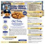 Training Sukses Ayam Crispy Untuk Usaha, Sabtu 07 September 2019