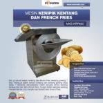 Jual Mesin Keripik Kentang dan French Fries KRP650 di Banjarmasin