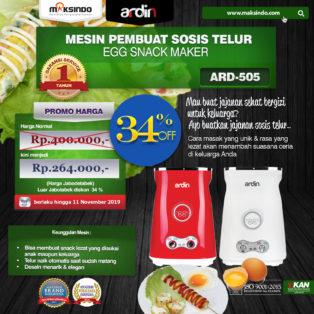 Jual Mesin Sosis Telur 2 Lubang ARDIN ARD-505 di Banjarmasin