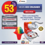 Jual Mesin Ice Crusher MKS-CRS30 Di Banjarmasin