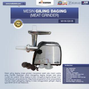 Jual Mesin Giling Daging (Meat Grinder) MHW-G51B di Banjarmasin